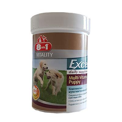 8 in 1 Exel Yavru Köpek Multi Vitamini