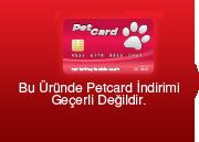 Pet Card indirimi bulunmamaktadır