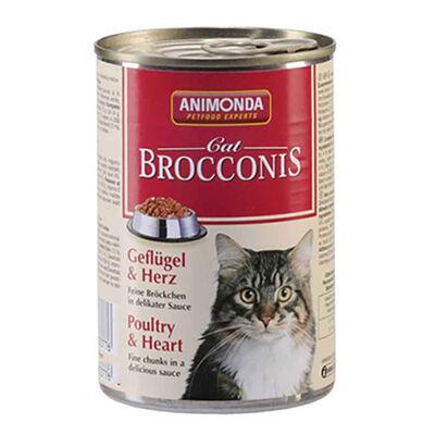 Animonda - Animonda Kümes Hayvanlı Ve Yürekli Yetişkin Kedi Konservesi