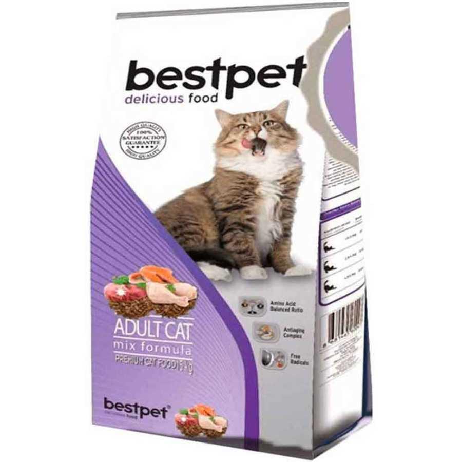 Bestpet Cat Mix Karışık Yetişkin Kedi Maması