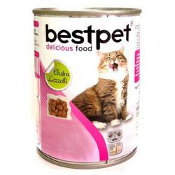 Best Pet - Bestpet Tavşan Etli Yetişkin Kedi Konservesi