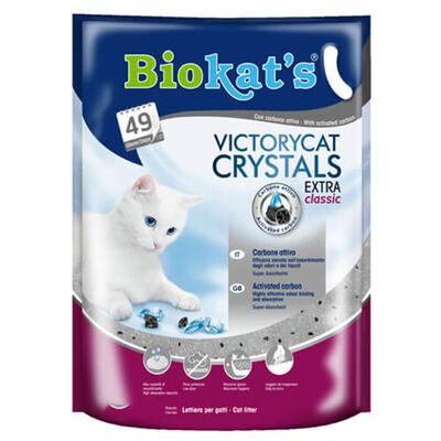 Biokats Silica Kedi Kumu VictoryCat Crystals Extra