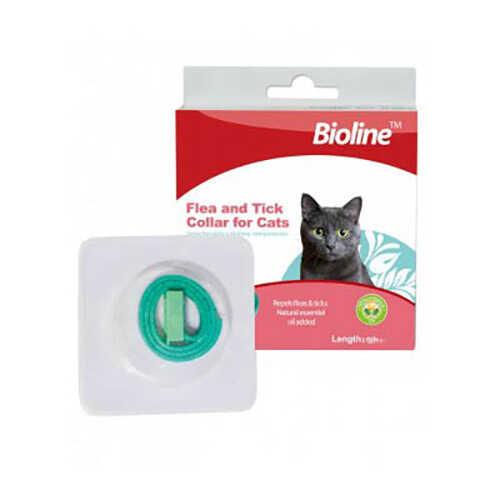 Bioline Kedi Bitkisel Pire Kene Uzaklaştırıcı Tasması