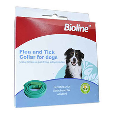 Bioline Köpek Bitkisel Pire Kene Tasması