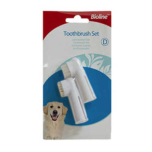 Bioline Parmak Diş Fırçası Seti İkli