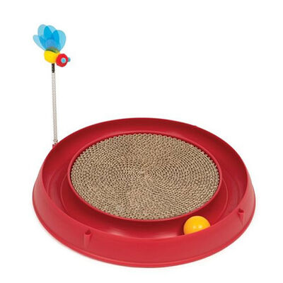 Catit Play Circ Ball W Scratch Pad Kedi Tırmalaması
