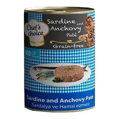 Chefs Choice - Chef's Choice Kıyılmış Sardalya & Hamsi Tahılsız Kedi Konservesi