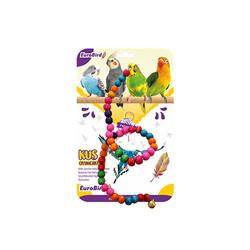 EuroBird Kuş Oyuncağı Bocuklu İp - Thumbnail