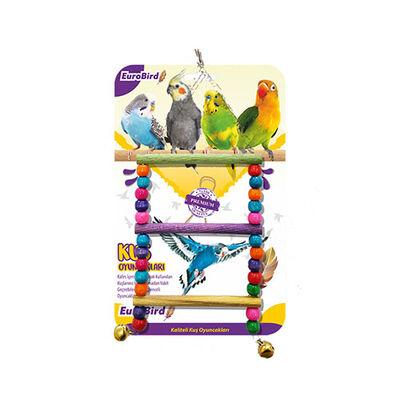 EuroBird Kuş Oyuncağı Boncuklu Merdiven
