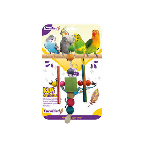 EuroBird Kuş Oyuncağı H Şekilli Boncuk