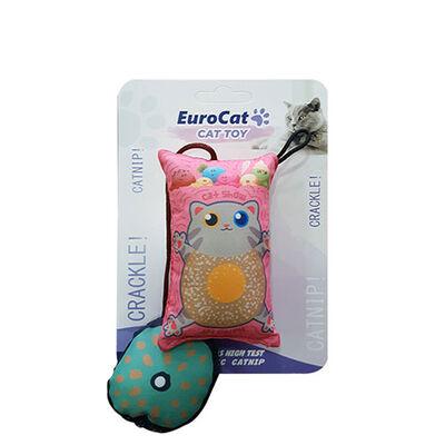 EuroCat Kedi Oyuncağı Yastık Kedi Ufak Yastık