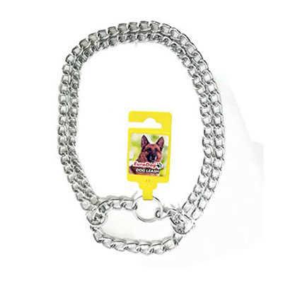 Eurodog 2 Li Zincir Madalyon Köpek Boyun Tasması
