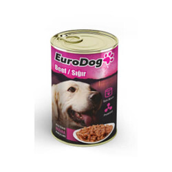 Eurodog - Eurodog Biftekli Köpek Konservesi