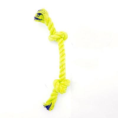 Eurodog Çift Düğümlü Diş İpi Köpek Oyuncağı Sarı