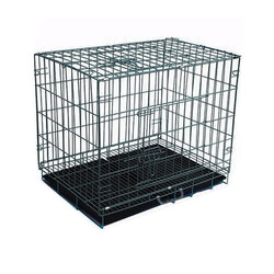 Eurodog Köpek Kafesi Siyah Dövme - Thumbnail