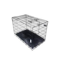 Eurodog - Eurodog Köpek Kafesi Siyah