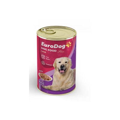 Eurodog - Eurodog Kuzu Etli Köpek Konservesi