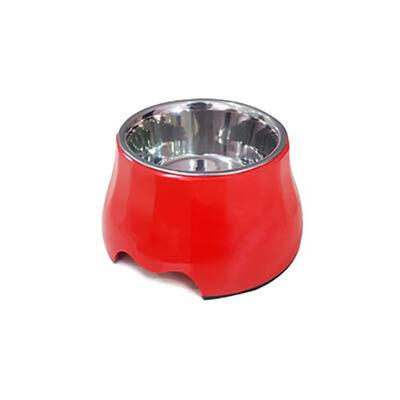 Eurodog Melamin/Çelik Mama Kabı Yükseltili 400 ml
