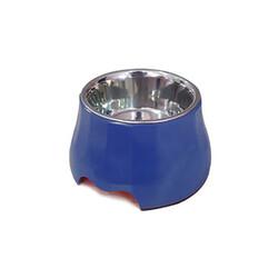 Eurodog Melamin/Çelik Mama Kabı Yükseltili 400 ml - Thumbnail