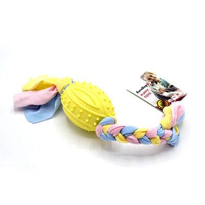 EuroDog Puppy Toys Rugby Topu Diş Kaşıma Oyuncağı