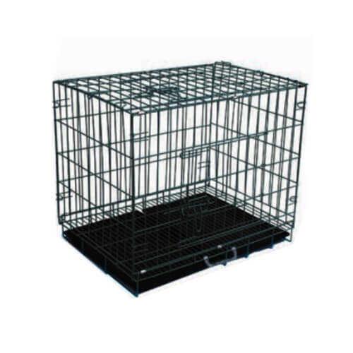Eurodog Siyah Köpek Kafesi Siyah