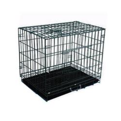 Eurodog - Eurodog Siyah Köpek Kafesi Siyah