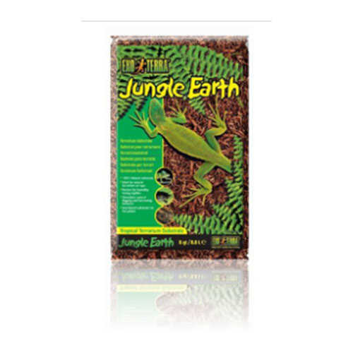 Exo Terra Jungle Earth 8 Quart Sürüngen Toprağı