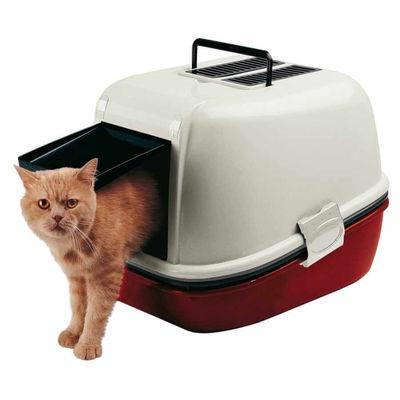 Ferplast - Ferplast Magıx Kapalı Kedi Tuvaleti