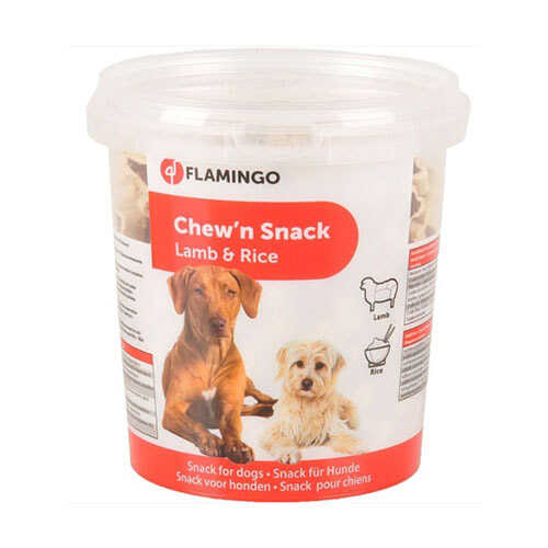 Flamingo Chewn Bones Lamb Rice Köpek Ödülü