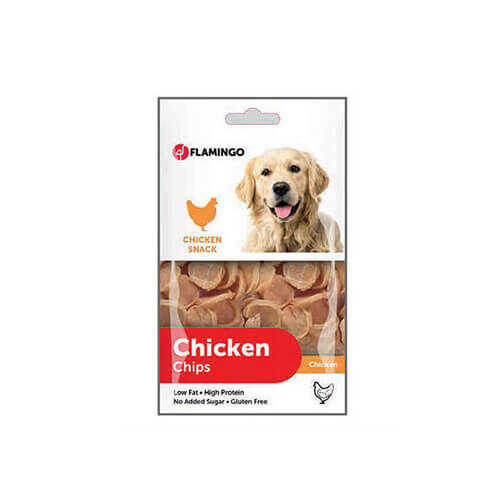 Flamingo Chicken Chips Tavuklu Cips Köpek Ödülü