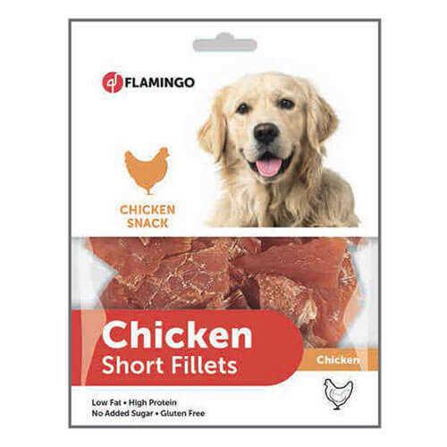 Flamingo Chicken Et Parçalı Köpek Ödül
