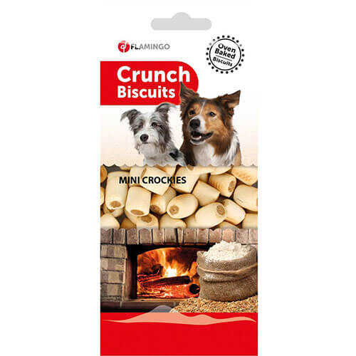 Flamingo Crunch Mini Köpek Ödül Bisküvisi