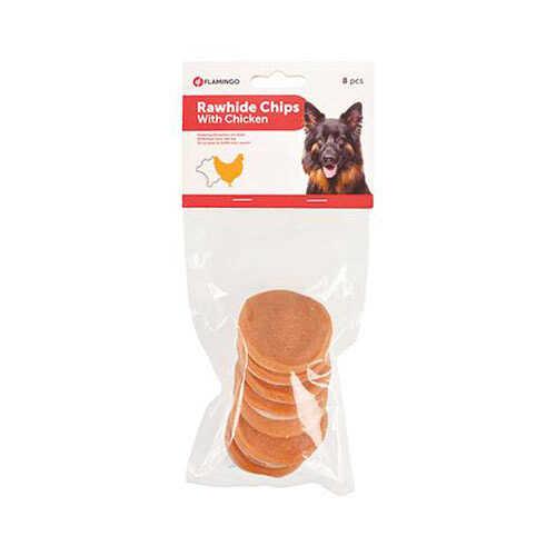 Flamingo Rawhide Chips Tavuklu Cips Köpek Ödülü