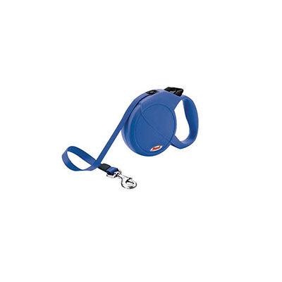 Flexi - Flexi Classic Compact 3 Mavi Otomatik Şerit Gezdirme Tasması
