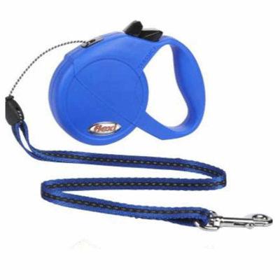 Flexi Otomatik Köpek Gezdirme Tasması Mavi