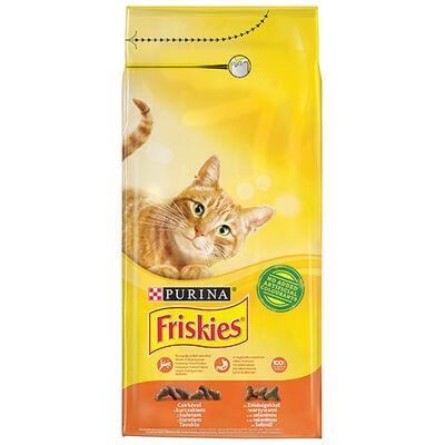 Friskies - Friskies Tavuklu Sebzeli Yetişkin Kuru Kedi Maması