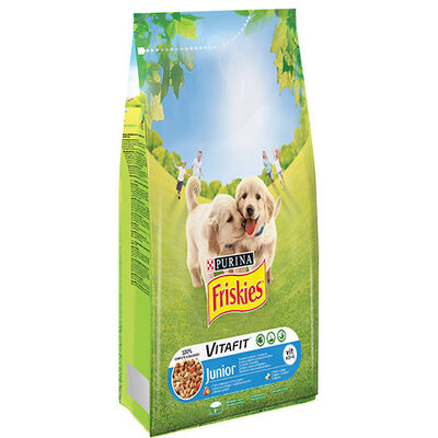Friskies - Friskies Tavuklu Ve Sebzeli Yavru Köpek Maması