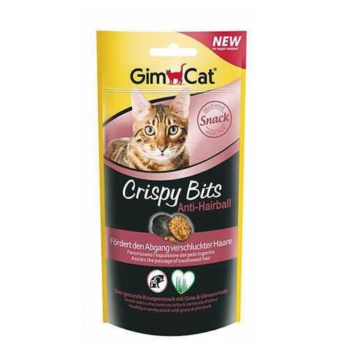 Gimcat Crispy Bits Anti Hairball Kedi Ödül Tableti