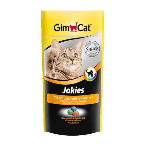 Gimcat Jokies Renkli Kedi Ödül Tableti