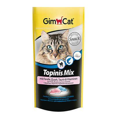 GimCat Topinis Mix Alabalıklı Peynirli Kedi Ödülü