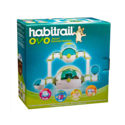 Habitrail Ovo Dwarf Hamster Kafesi