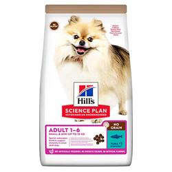 Hills Tahılsız Small Mini Tuna Balıklı Yetişkin Köpek Maması - Thumbnail