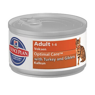 Hills Turkey Hindili Yetişkin Kedi Konservesi
