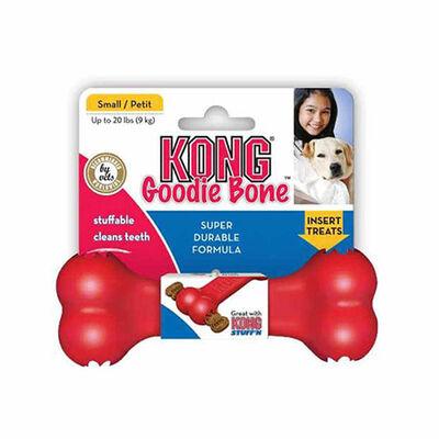 Kong Köpek Kırmızı Kauçuk Oyuncak Kemik