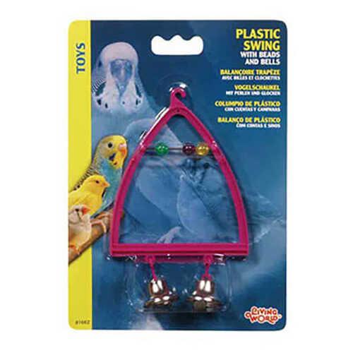 Lıvıng World Plastik Zilli Tünek