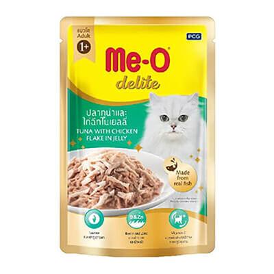 Meo - Meo Ton Balıklı Tavuklu Kedi Konservesi Pouch
