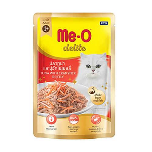 Meo Ton Balıklı Yengeçli Kedi Konservesi Pouch