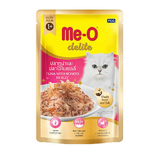 Meo Ton&Palamut Balıklı Kedi Konservsi Pouch