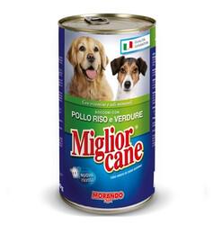 Miglior - Miglior Cane Tavuklu Prinçli Ve Sebzeli Yetişkin Köpek Konservesi