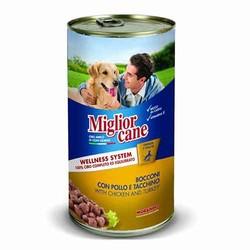 Miglior - Miglior Tavuklu&Hindili Yetişkin Köpek Konservesi